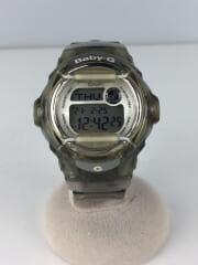 クォーツ腕時計・Baby-G/デジタル/ラバー/BEG/CLR