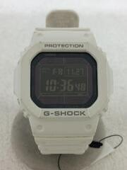 ソーラー腕時計・G-SHOCK/デジタル/ラバー/WHT/ホワイト/GW-M5610MD-7JF
