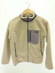 フリースジャケット/XL/ポリエステル/CRM/クリーム