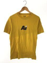 Tシャツ/M/コットン/イエロー