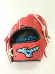 global elite d link 野球用品/右利き用/RED/ソフトボール用