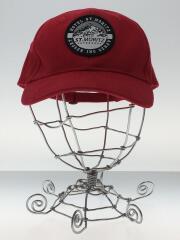 ST.MORITZ/CLASSIC CAP/キャップ/コットン/レッド