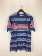 Tシャツ/M/コットン/ネイビー