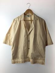 Cotton Fried Shrimp Shirt/半袖シャツ/3/コットン/ベージュ