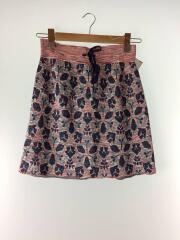 geometric WJQ.mini skirt/スカート/36/ポリエステル/マルチカラー/総柄