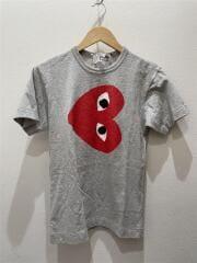 Tシャツ/S/コットン/グレー