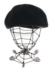 カシラ/ベレー帽/ZKN01303/コットン/BLK/ブラック