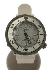 V147-0BP0/PROSPEX/ダイバースキューバ/ソーラー腕時計/アナログ/WHT/WHT