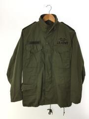 M-65/81年製/フィールドジャケット/ミリタリージャケット/XL/コットン/KHK