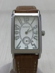 H114110/クォーツ腕時計/アナログ/レザー
