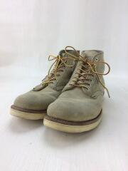 ブーツ/US8/BEG/スウェード