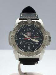 LUMINOX/ルミノックス/クォーツ腕時計/ラバー/BLK/黒/BLK/黒/3250-1GBq/