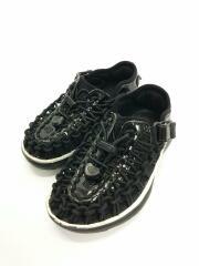 キッズ靴/16cm/サンダル/指定外繊維/BLK
