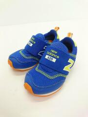 NEW BALANCE/キッズ靴/14cm/スニーカー/BLU
