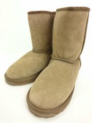 ブーツ/25cm/BEG/スウェード