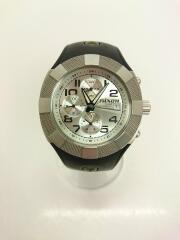 NIXON/クォーツ腕時計/アナログ/ラバー/SLV
