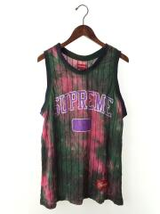 2020/Dyed Basketball Jersey/タンクトップ/M/--/GRN/総柄