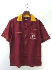 90s/ボーリングシャツ/半袖シャツ/M/コットン/BRD