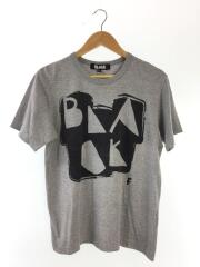 AD2013/Tシャツ/L/コットン/GRY/1L-T005
