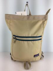 リュック/PVC(ビニール)/ベージュ/48012/Arbor Market Pack/15L