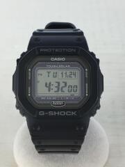 カシオ/ソーラー腕時計・G-SHOCK/デジタル/ラバー/ブラック/GW-5000-1JF