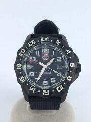 ルミノックス/NIGHTHAWKGMT/クォーツ腕時計/アナログ/キャンバス/ブラック/6420-200