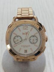 クォーツ腕時計/アナログ/SLV/GLD