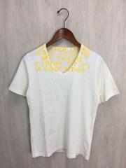 Tシャツ/S/コットン/CRM