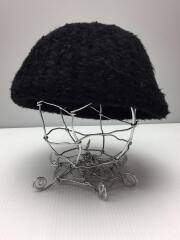 ベレー帽/ウール/ブラック