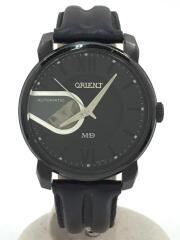 自動巻腕時計/アナログ/BLK/DB03-EO