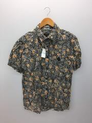 半袖シャツ/L/レーヨン/花柄/アロハシャツ