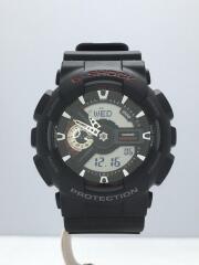 クォーツ腕時計・G-SHOCK/デジアナ/ブラック/GA-110-1AJF