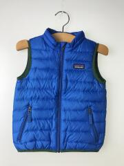 Baby Down Sweater Vest/ベスト/3T/ポリエステル/BLU/無地