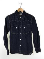 Long Sleeve Denim Wester/デニムウエスタンシャツ/34/コットン/IDG/7007