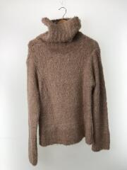 Teddy turtle neck/テディータートルネックニット/0/ウール/PNK/11706-15-0714