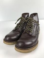 ブーツ/US8.5/BRW/90年代後期//レースアップブーツ BECKMAN  ベックマン プレーントゥ MADE IN USA