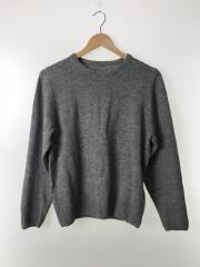 SOPHNET. ソフネットセーター(厚手)/1/M/ウール/GRY/無地