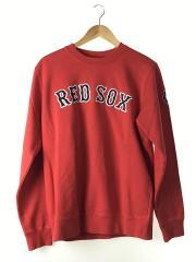 Red Sox Crewneck/S/コットン/RED/刺繍/18AW