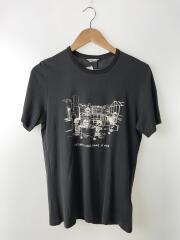 Tシャツ/S/コットン/GRY/プリント/1430310802