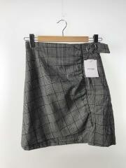 スカート/1/ポリエステル/GRY/チェック/17s