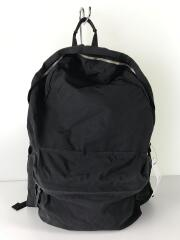 SIMPLICITY daily-daypack/ナイロン/BLK/無地
