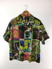 半袖シャツ/M/コットン/総柄/H616337X03/2020SS/クラブフライヤーモチーフシャツ
