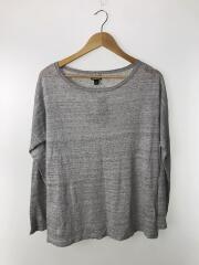 LW Linen Sweater/S/リネン/GRY/50435/2017