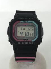 ソーラー腕時計・G-SHOCK/デジタル/ラバー/GRY/マルチカラー/2018DJ1504