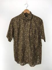 Italian Collar Summer Shirt/36/コットン/KHK/総柄/KS9SSH09/19SS