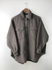 2019AW/CPOシャツジャケット/FREE/ポリエステル/GRY/193-3007