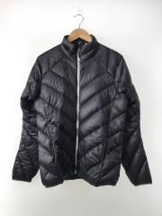 L.IM. ESSENS JACKET/M/ダウン/BLK/無地/603932