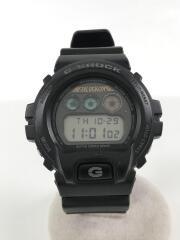 1/クォーツ腕時計/デジタル/ラバー/BLK/BLK