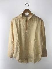 2020SS/オープンバックシャツ/ONE/レーヨン/YLW/16WFB201038