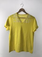 Tシャツ/M/コットン/YLW/GC899